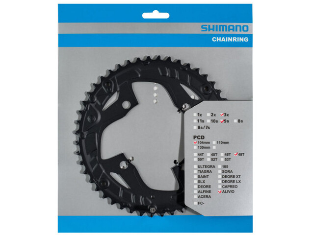 Shimano Alivio FC-T4010 Chainring 9-speed black